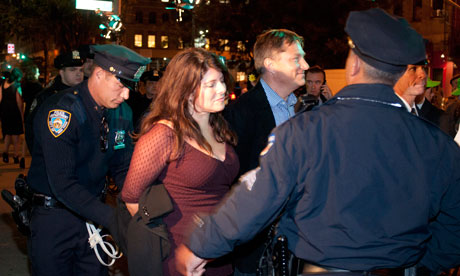 Low IQ cops arrest peaceful woman in evening gown